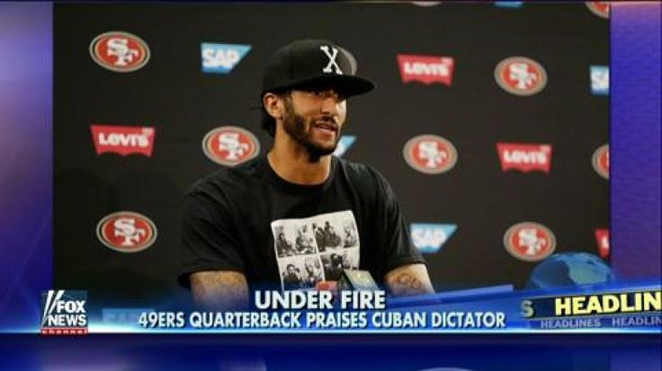 Embattled San Francisco 49ers quarterback Colin Kaepernick praised Cuban dictator Fidel Castro during a contentious press conference this week.