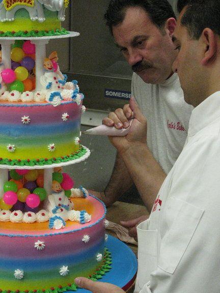 cake boss....icecream clown cake from Cake Boss!