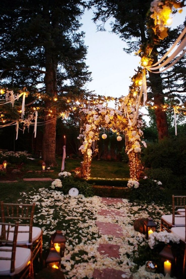 20 stunning woodland forest wedding ceremony ideas
