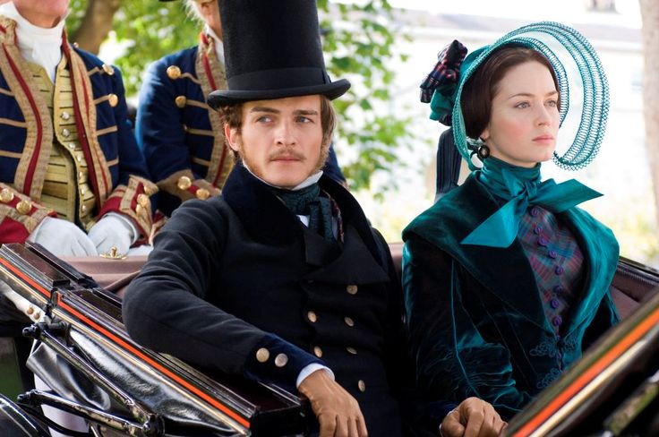 Prince Albert (Rupert Friend) and Queen Victoria (Emily Blunt) in The Young Victoria