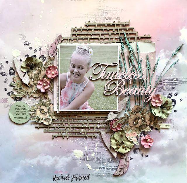 April Layouts Created by Rachael Funnell