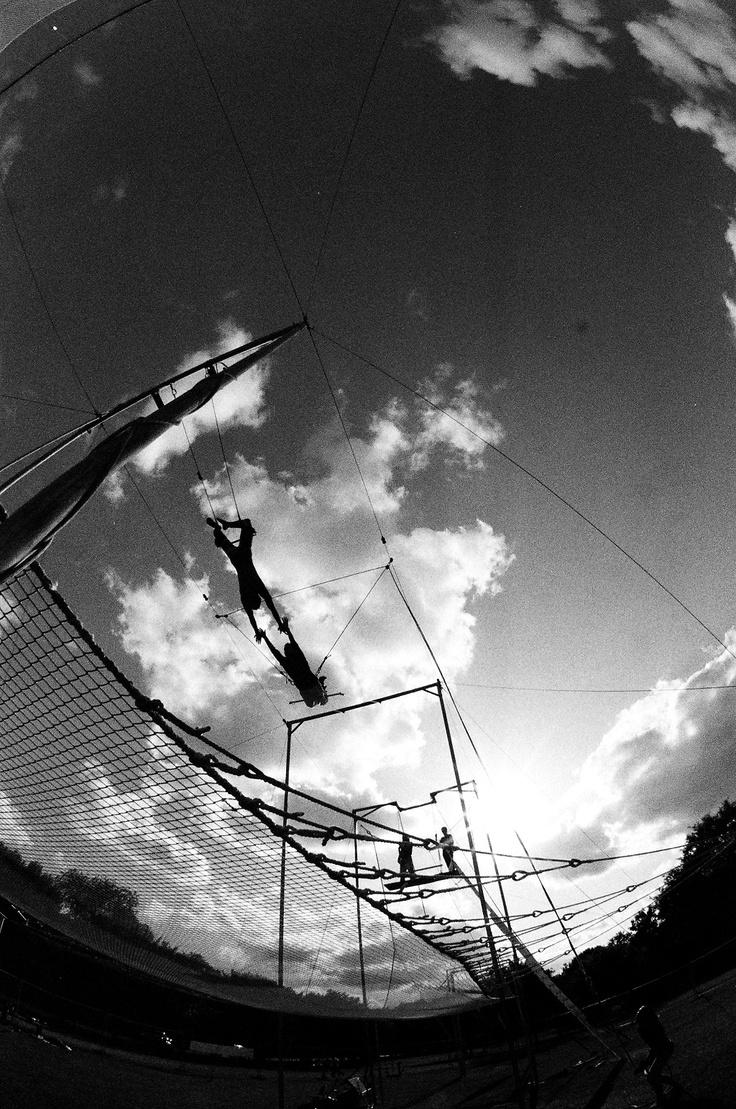 Flying Trapeze at Gorilla Circus London  http://www.gorillacircus.com/
