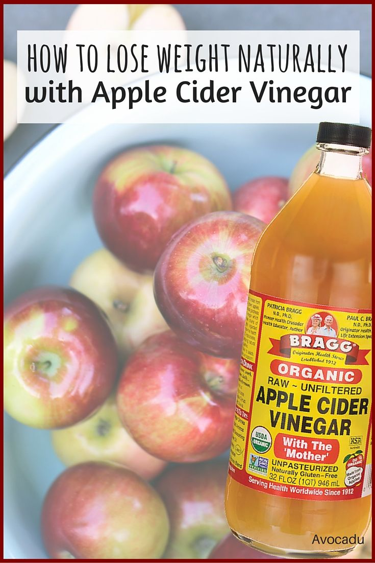 How to Lose Weight with Apple Cider Vinegar | Avocadu.com