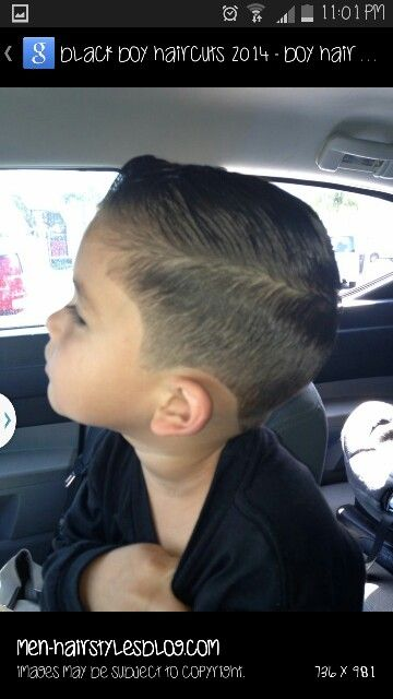 Clean Cut Comb Over For Little Boys Children Pinterest