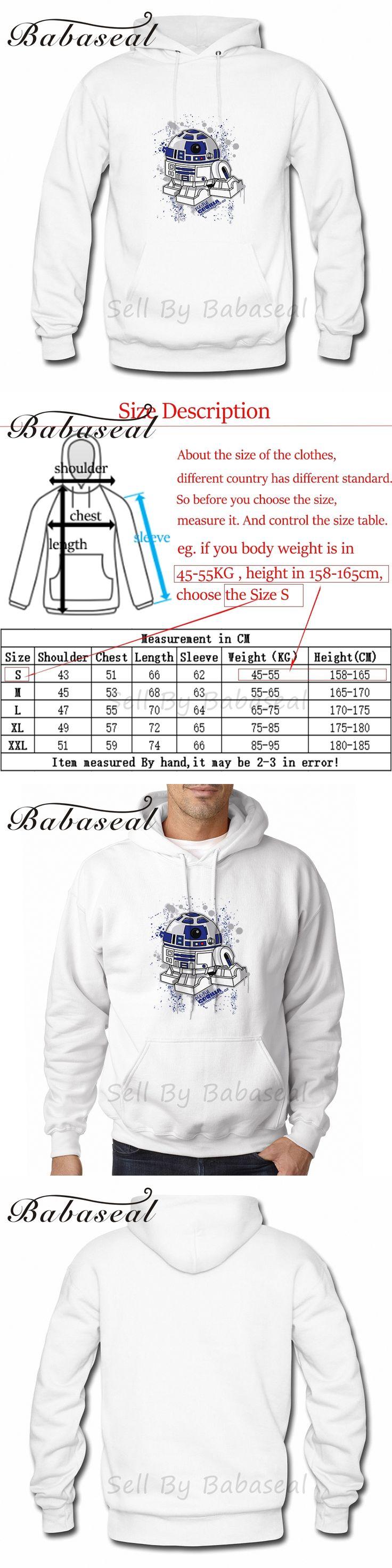 Babaseal Astromech Are2dee2 Cardigan Anime Hoodies Hoody Pink Sweatshirt Men Plus Size Korean Fashion Mens Hoodie