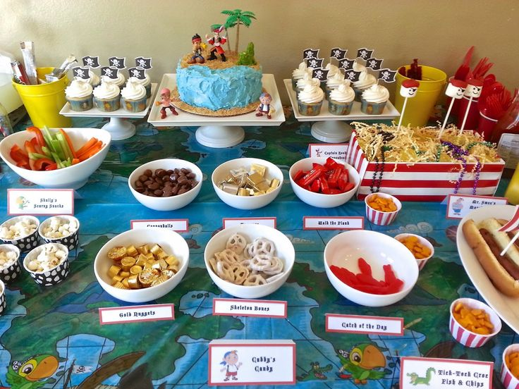 Much Kneaded: Jake and the Neverland Pirates Birthday Party