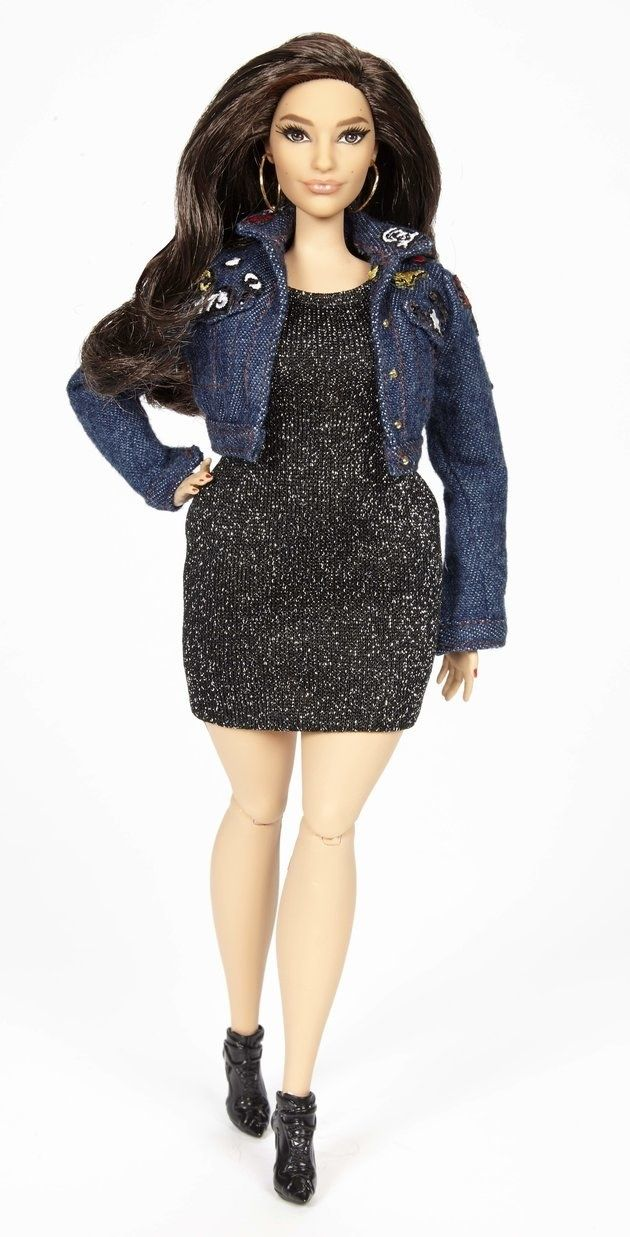 """Mattel Just Unveiled an """"Ashley Graham"""" Barbie Doll That Matches Her Measurements   The doll's most important attribute? """"The #1 prerequisite ... was that her thighs touched. I was like, 'Guys, we can make this Barbie, but if her thighs don't touch, she's not authentic,"""" she told the Huffington Post   17 November 2016"""