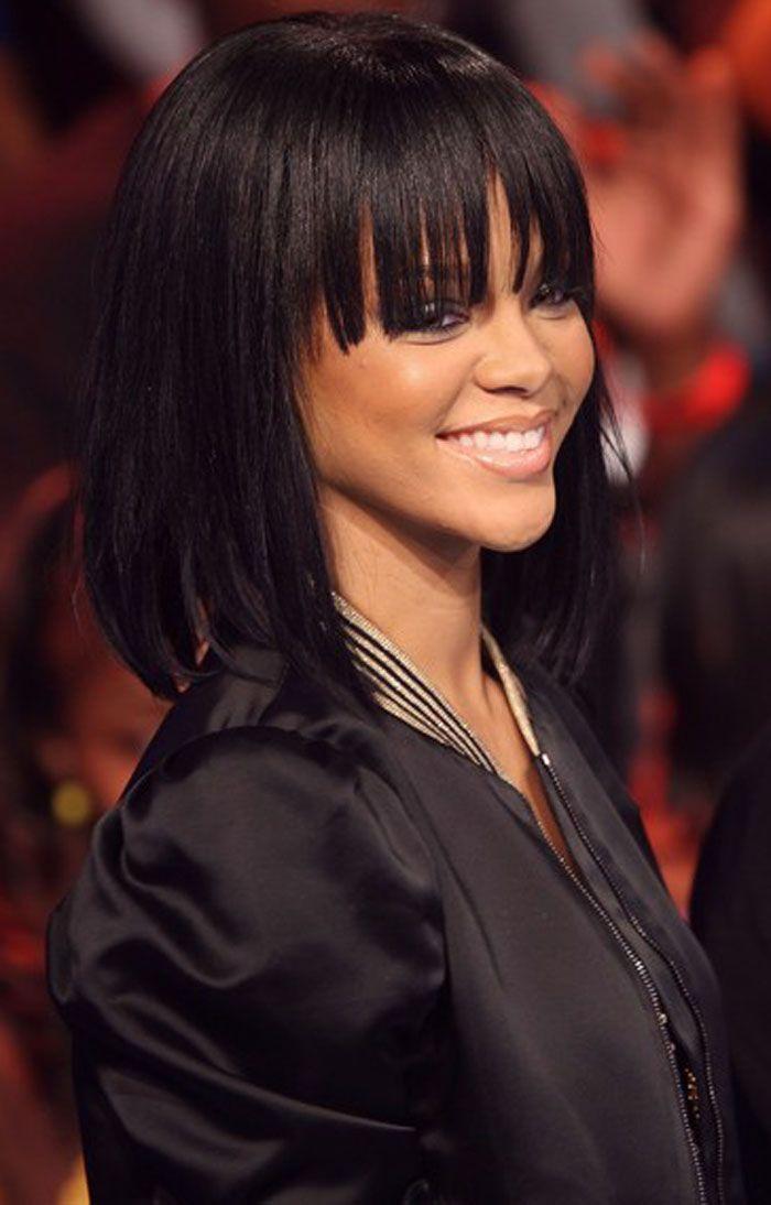 Medium Hairstyles For Black Women medium length hairstyles for black women Find This Pin And More On Medium Hairstyles For Black Women By Lorawilliams13