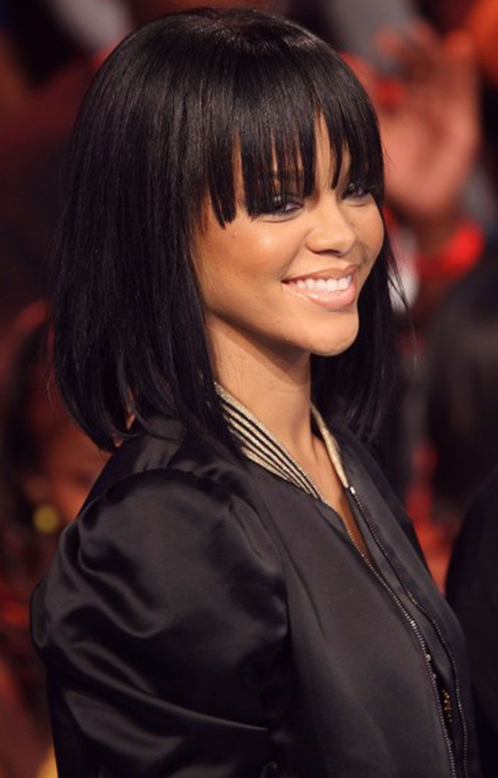 1000 Images About Black Hairstyles For Medium Length Hair