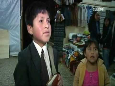 Niño Testigo de Jehová predicando a Periodista Española en Perú - YouTube