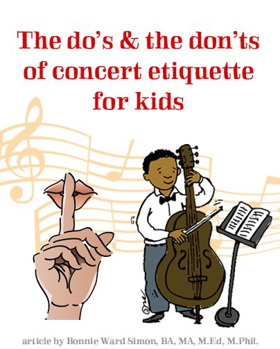 classical concert etiquette essay The concert essays i got early just as the teacher had told us to do i thought it was going to be a concert with pianos and great orchestras, but to my surprise when.