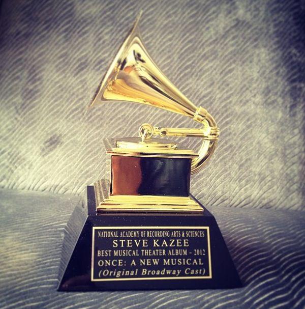 Steve Kazee Grammy Award