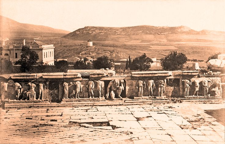 https://flic.kr/p/ssJW4V | The Athens windmill, seen from Dionysos theatre ca. 1880