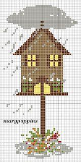 atmosfera di casa: bird house