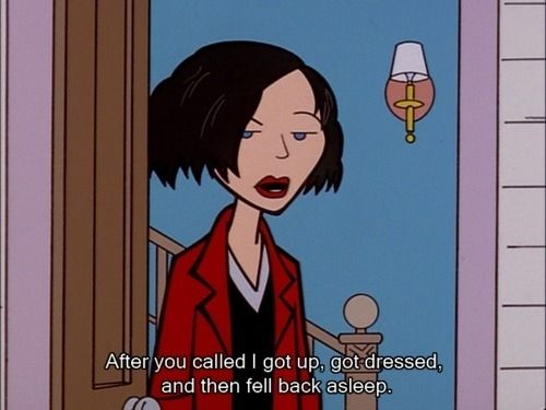 """Or a bad time: 