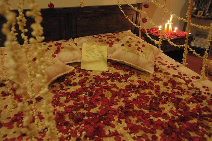 Wedding Night Bedroom Decorating Photos
