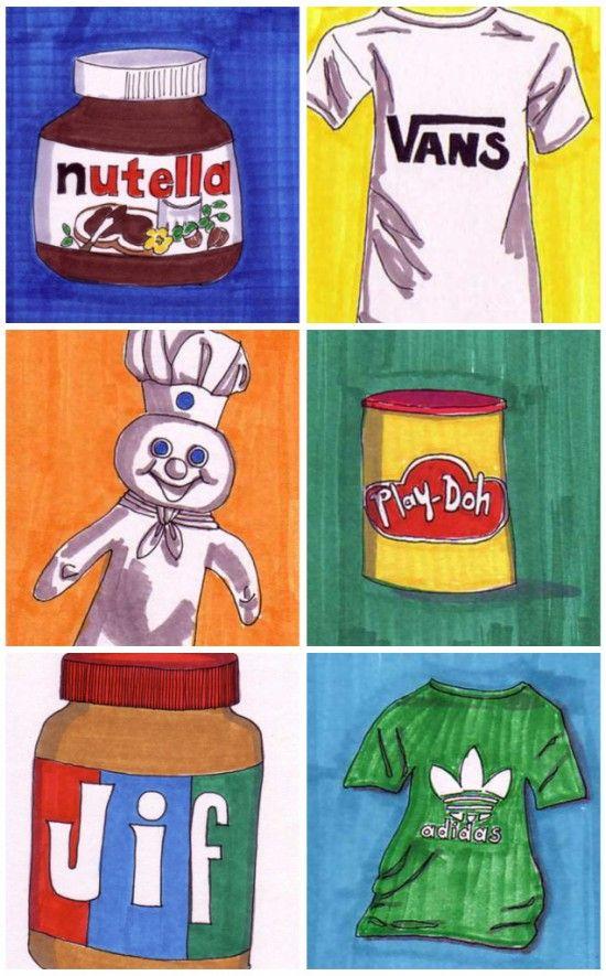 Modern Pop Art for Modern Kids