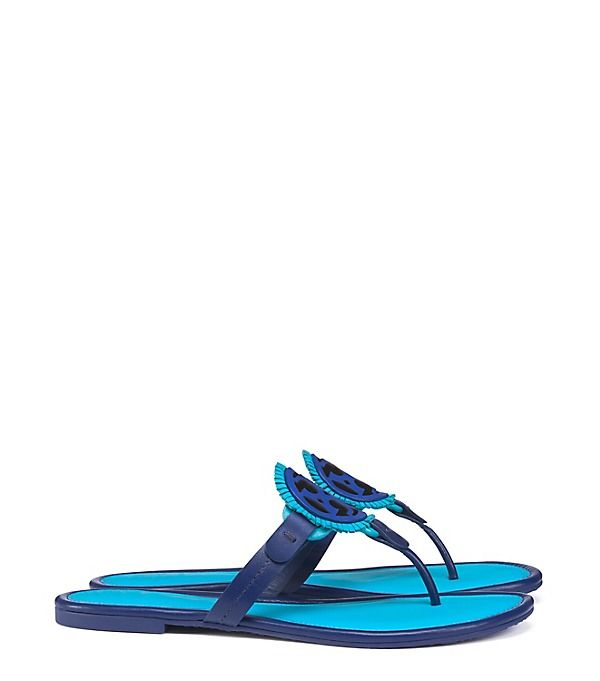 Visit Tory Burch to shop for Miller Fringe Sandal, Leather and more Womens  Sandals. Find designer shoes, handbags, clothing & more of this season's  latest ...