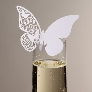 Set Of Ten Butterfly Lazer Cut Name Place Holders - new in wedding styling