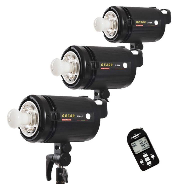 429.00$  Buy here - http://ali2uo.worldwells.pw/go.php?t=32630651851 - CONONMARK Three Flashes GE300 300W 3G 2.4GHZ Wireless Strobe Flashlight,Studio strob,lamp for photography studio 429.00$