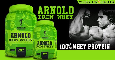 Muscle pharm Arnold Schwarzenegger Series Iron Whey is one of the best Muscle Gainer Supplement.