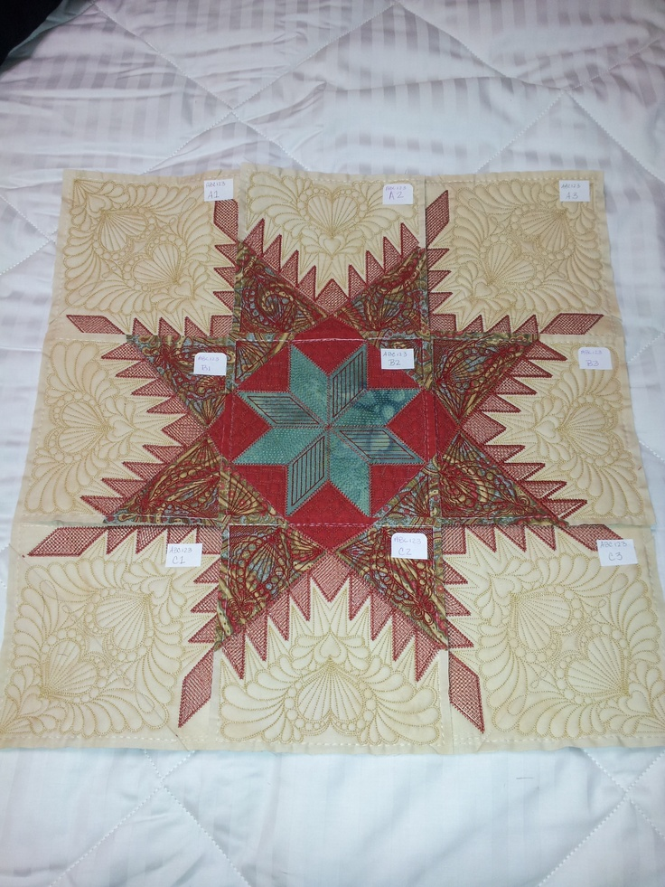 Star Quilt Embroidery Design : 45 best images about Hoopsisters on Pinterest Quilt ...