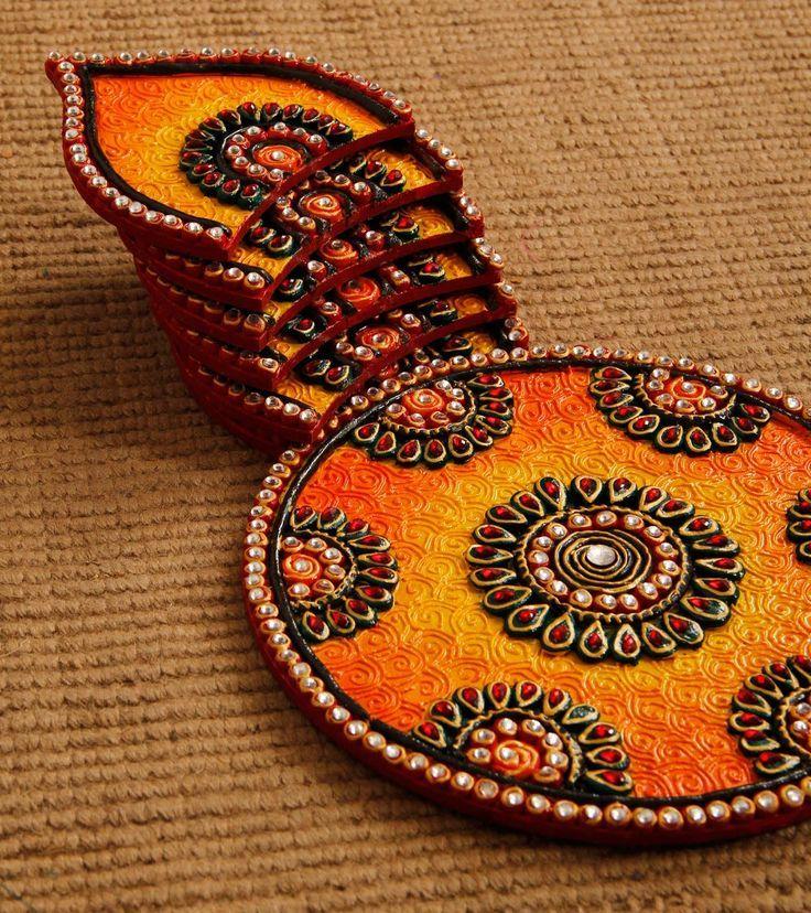 Mehndi Flower Plates : Amazing mehndi plate designs plates