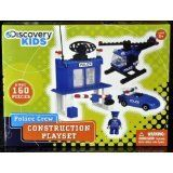 Police Crew Construction Playset by Discovery Kids by Best-Lock Construction Toys, Inc.. $7.00. Works with other branded block sets. Includes two figures with accessories. Comes complete with full-color step-by-step building instructions. Contains over 160 pieces. Discovery Kids is all about inspiring kids to explore the awesome worlds around them. Cultivating curiosity and sparking new ideas, our products instill a life-long passion for discovery.