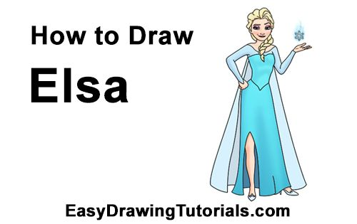 how to draw frozen characters videos