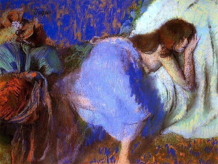 Edgar Degas - Rest