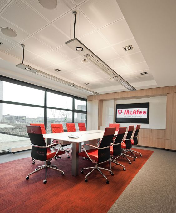 2FLAT2C By Modular Lighting Instruments At McAfee International Office In  Amsterdam #supermodular