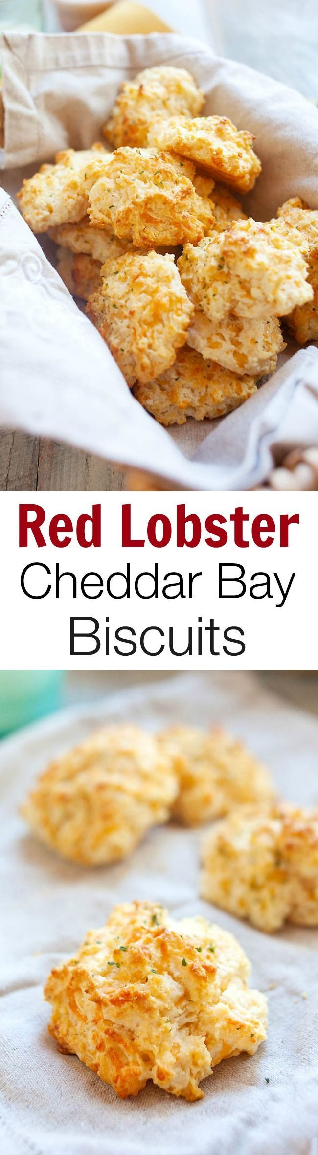 Red Lobster Cheddar Bay Biscuits | Recipe | Best biscuit recipe ...