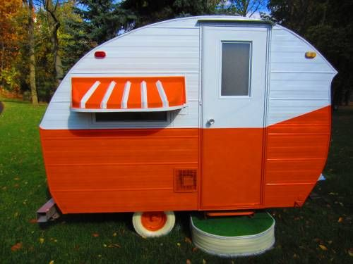Great little Orange Crush trailer - Tin Can Tourist Classifieds