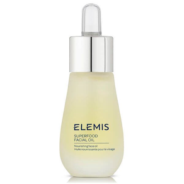 Elemis Superfood Facial Oil 15ml ($58) ❤ liked on Polyvore featuring beauty products, skincare, face care, elemis, paraben free skin care, elemis skin care and elemis skincare