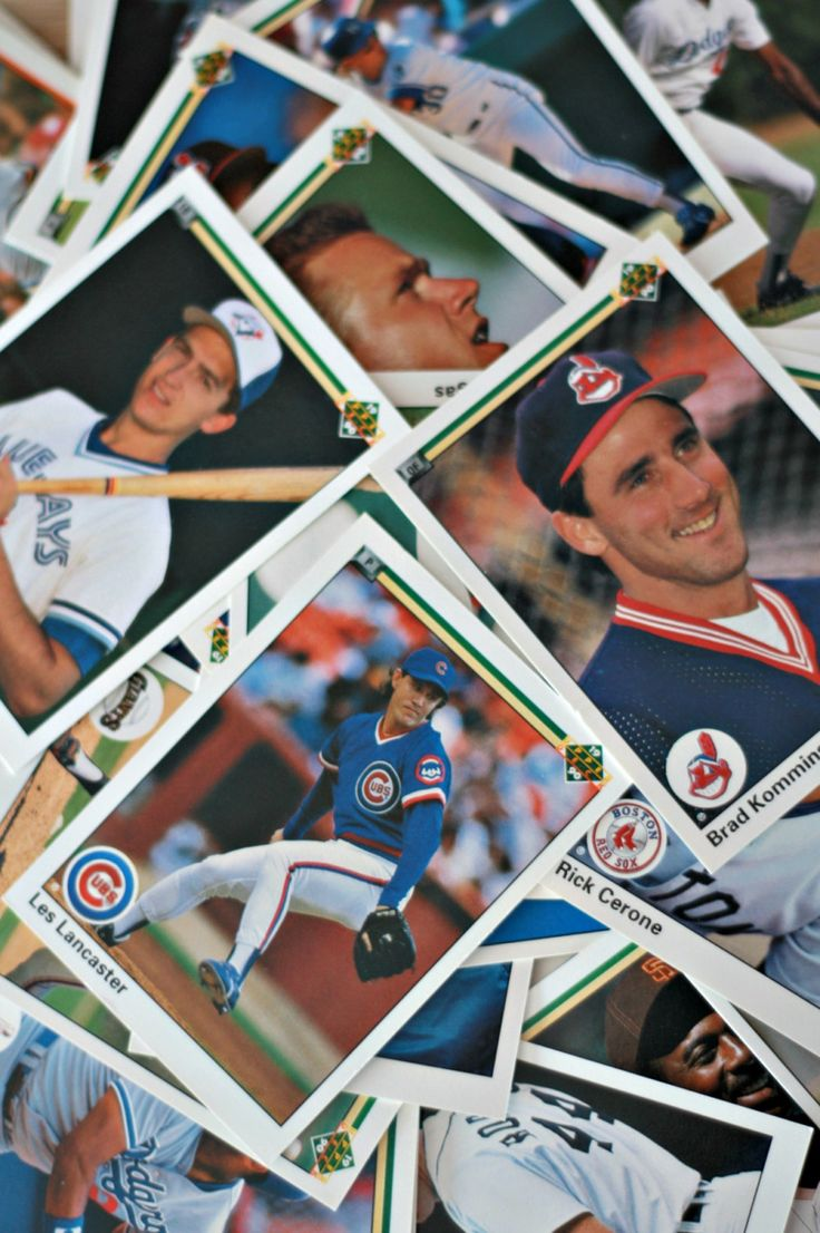Carte de baseball 1990 lots de 90, Carte Baseball vintage, Carte sport, Upper Deck cartes, MLB carte, Cubs de Chicago, Indians de Cleveland de la boutique PastelEtPixel sur Etsy