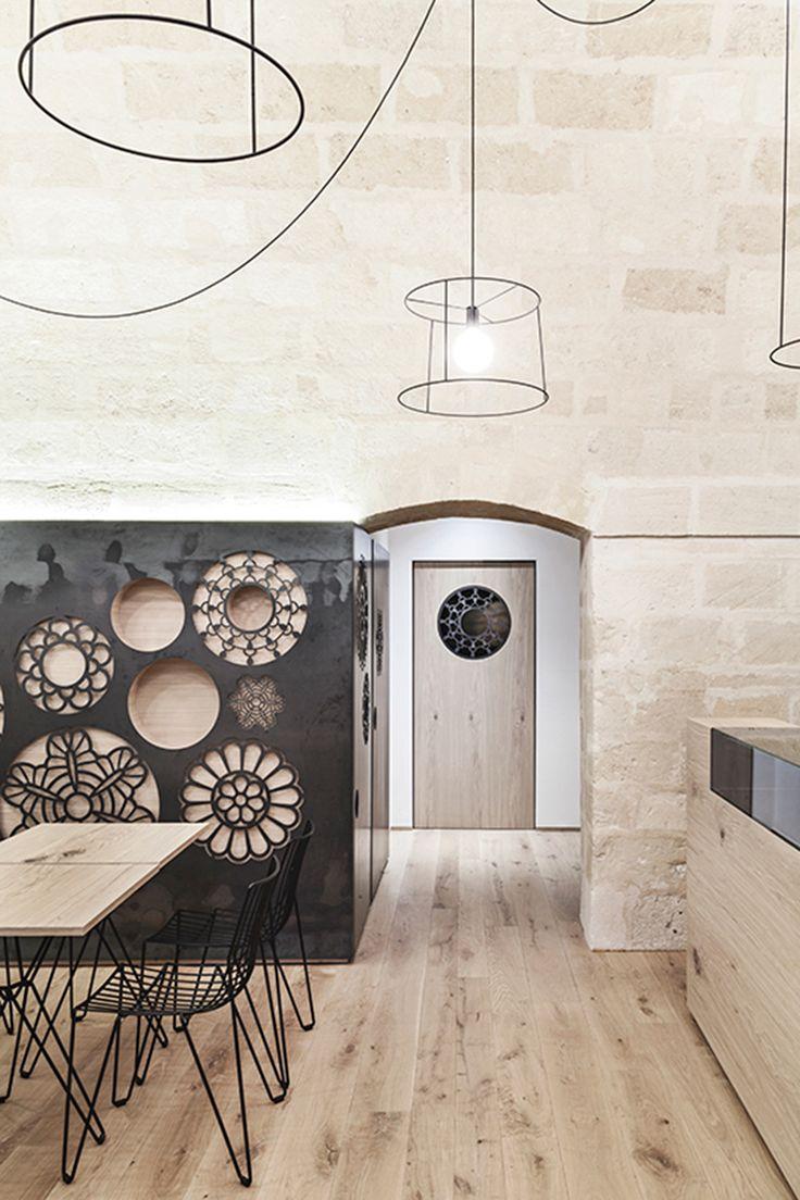 Vista interior. Ridola Caffè por Manca Studio. Fotografía © Pierangelo Laterza.