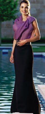 Fashion Assistance: Un diseño de Lanvin, elegido por la revista Hola, el modelo más elegante de Rania de Jordania