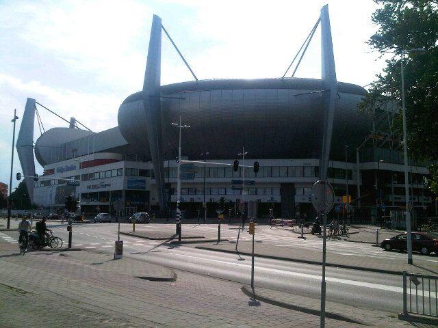 Philips Stadion in Eindhoven, Noord-Brabant