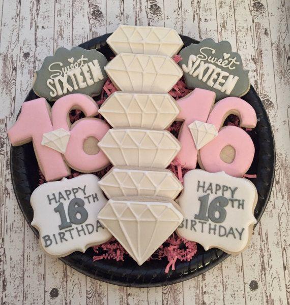 Sweet+16+Sugar+Cookies/Decorated+Sugar+Cookies/+Sweet