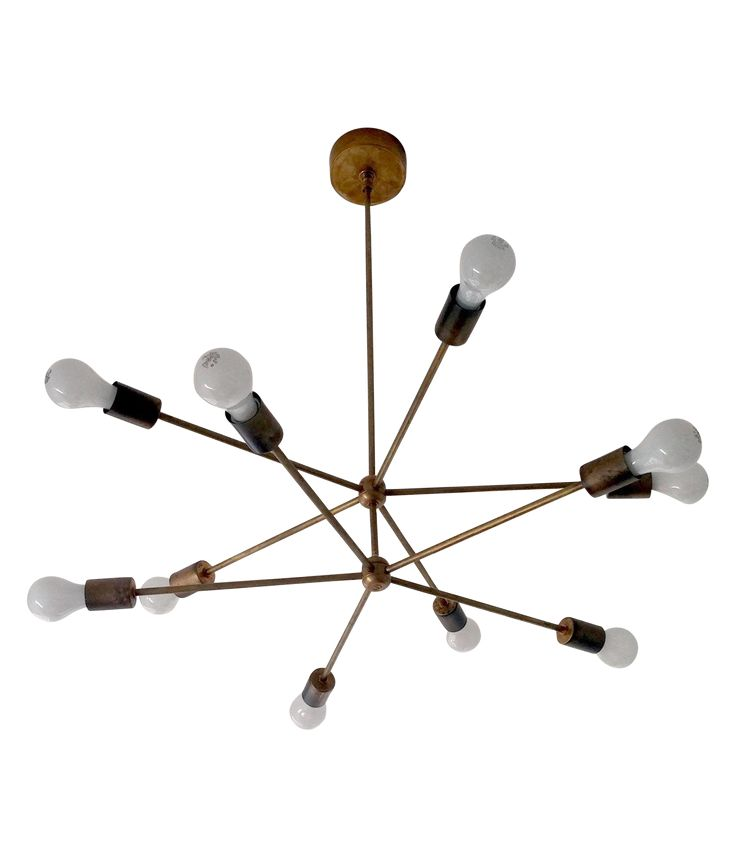 91 best modern lighting images on pinterest modern lighting image of modern sputnik chandelier great way to define space for an open dining living room mozeypictures Gallery