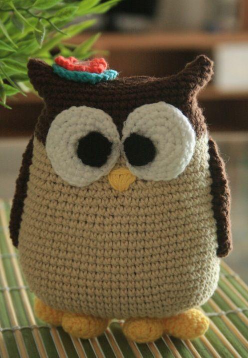 Lechuza/ owl crochet