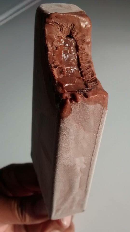 Picolé de nutella