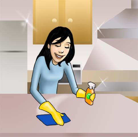 16 best Kitchen cleaning tips images on Pinterest | Kitchen cleaning ...