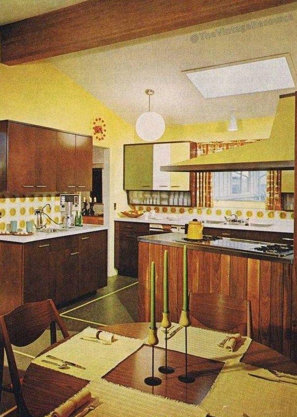 1964 Kitchen Design Mid Century Modern Kitchens