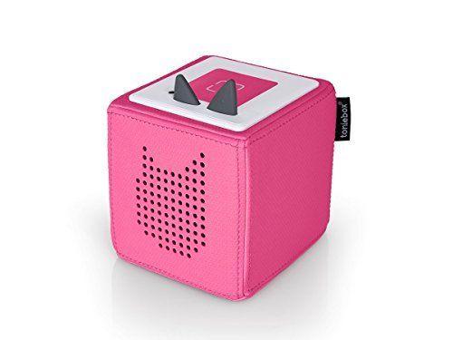 Toniebox Starterset Pink - Tolles Weihnachtsgeschenk für Kinder, mit dem sie selbstständig Hörspiele hören können