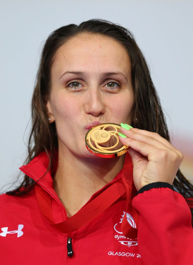 Gold medallist Georgia Davies of Wales