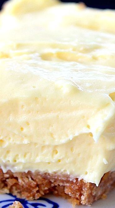 Cream Cheese Lemonade Pie ~ This is definitely a refreshing, super delicious, creamy dessert!