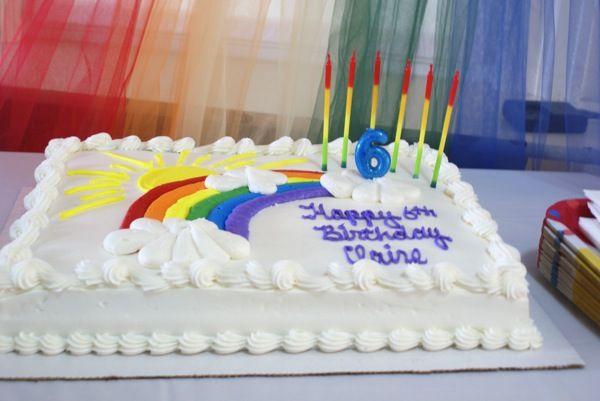 10 Inch Round Unicorn Cake