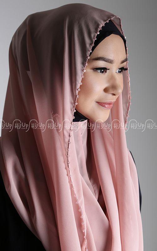 Instan Shawl - Aprilia - Crystal Glamour Peafowl