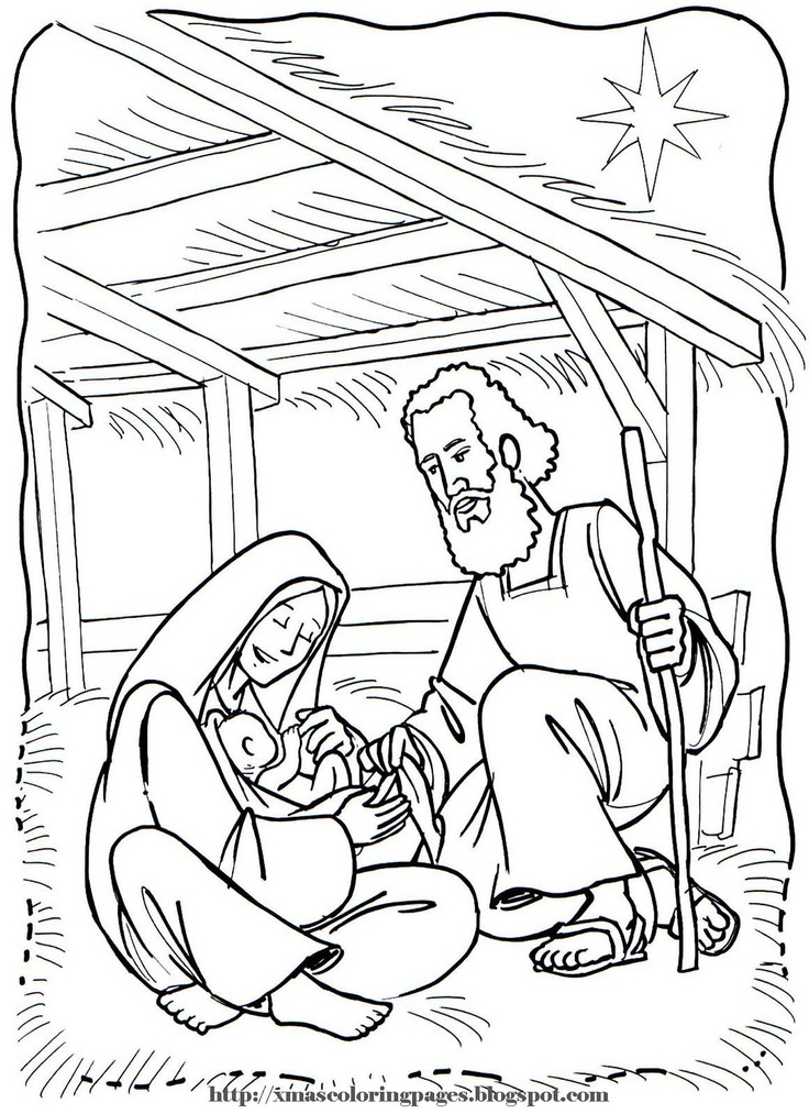 33 best coloring bible ot genesis images on pinterest for Nativity coloring pages with scripture